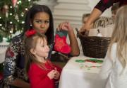 Michelle Obama, qui affiche une cote de popularité... (AFP, Saul Loeb) - image 5.0