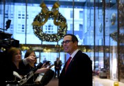 Steven Mnuchin sera le secrétaire au Trésor du... (AFP, Timothy A. Clary) - image 4.0