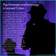 Pop Montréal organise, avec l'assentiment de la famille... - image 1.0