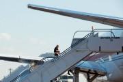 Le président désigné monte à bord de son... (photo Bryan R. Smith, agence france-presse) - image 1.0