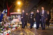 François Hollande, Barack Obama et la mairesse de... (AFP) - image 3.0