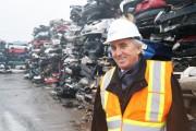 Jean-Guy Hamelin, président et chef de la direction... (Photo fournie par Total Métal Récupération) - image 1.0