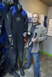 Carl Tremblay, plongeur expérimenté et propriétaire d'Accès plongée... (Le Progrès-Dimanche, Jeannot Lévesque) - image 1.0