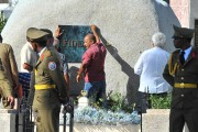 La tombe de Fidel Castro.... (Photo Yamil LAGE, Agence France-Presse) - image 1.0