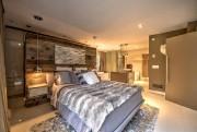 La chambre principale prend des airs de loft... (Photo fournie par Profusion Immobilier) - image 2.0