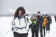 Sophie Faucher est suivie de son amie Geneviève... (Photo Nathalie Mongeau, Traversée de la Gaspésie) - image 4.0