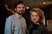 Le réalisateur Maxim Rheault et la comédienne Lysandre... (Photo André Pichette, La Presse) - image 2.0