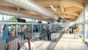La gare du REM... (IMAGE FOURNIE PAR CDPQ) - image 1.1