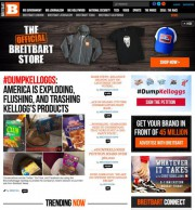 Les dirigeants du site Breitbart, qui est accusé... (photo tirée du site de Breitbart) - image 1.0