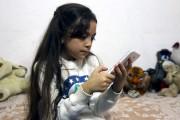 Bana, une Syrienne de sept ans qui vit... (AFP, Thaer Mohammed) - image 3.0