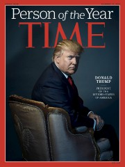 Donald Trump, a été désigné personnalité de l'année... (AFP, via le magazine Time) - image 2.0