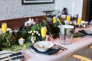 Vanessa Sicotte a réalisé chez elle une table... (PHOTO PHIL BERNARD, FOURNIE PAR DAMASK&DENTELLE) - image 3.0