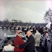 John Glenn et sa femme Annie lors d'un... (AP) - image 2.0