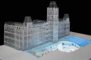 Cette vue montre la structure souterraine du futur... (Stephane Brugger) - image 2.0