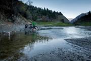 La première d'une dizaine de rivières à traverser... (Photo Jonathan B. Roy, Collaboration spéciale) - image 2.0