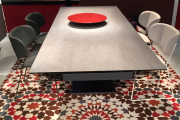 Table en dalles de porcelaine LAMINAM.... (Laminam) - image 1.1
