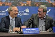 Le ministre des Affaires municipales, MartinCoiteux, a parlé... (Le Soleil, Patrice Laroche) - image 3.0