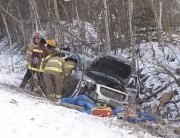 L'accident a eu lieu au kilomètre 215 de... (Sylvain Mayer) - image 1.0