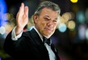 Le président colombien Juan Manuel Santos, a souligné... (AFP) - image 3.0