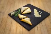 Triangles dephyllo, d'escargots et de champignons, sauce aubleu... (PHOTO OLIVIER PONTBRIAND, LA PRESSE) - image 3.0