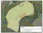 Le secteur en jaune est la zone présentant... - image 2.0