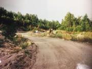 Le chemin qui menait à la tombe improvisée... (Photo La Presse) - image 1.0