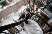 Katherine Hamel grimpe 8540 marches par jour pour... (Photo Alain Roberge, La Presse) - image 3.0