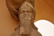 Une statue datant de lacivilisation assyrienneest photographiée àNimroud... (AFP) - image 2.0