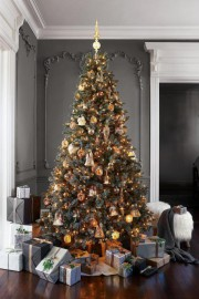 Le sapin doré... (Photo fournie par Pottery Barn) - image 2.0