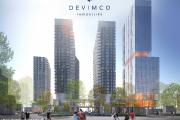 Le promoteur immobilier Devimco propose un projet résidentiel... (Illustration fournie par Devimco) - image 1.0