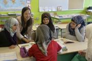 Les Syriennes arrivées dans la classe de madame... (Le Soleil, Pascal Ratthé) - image 2.0
