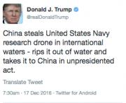 Donald Trumpa corrigé son erreur en effaçant le... (CAPTURE D'ÉCRAN DU COMPTE TWITTER DE DONALD TRUMP) - image 1.0