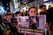 De Londres à Varsovie, les manifestations sont restées... (AFP) - image 2.0