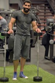 Ali Ayman s'entraîne au gym à Beauport avec... (Le Soleil, Pascal Ratthé) - image 3.0