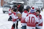 La livraison des denrées s'est faite samedi matin.... (Catherine Trudeau) - image 1.0