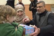 Mohammad Said Skef et sa femme Adawia Hassoun... (Stéphane Lessard, Le Nouvelliste) - image 1.0