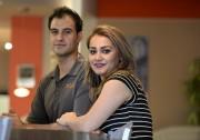 Fadi Alratel, 38 ans, et son épouse Dalia... (Le Soleil, Yan Doublet) - image 5.0