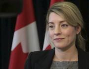 La ministre du Patrimoine, Mélanie Joly... (Etienne Ranger, Archives Le Droit) - image 9.0