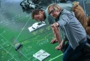 Le réalisateurMorten Tyldum dirige Chris Pratt sur le... (Photo fournie parColumbia Pictures) - image 2.0