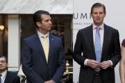 Donald Trump Jr. et Eric Trump lors de... (AP, Evan Vucci) - image 3.0