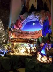 La crèche de la cathédrale de Trois-Rivières, réalisée... (Facebook) - image 2.0