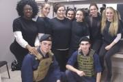 Des élèves du programme d'arts et métiers de... (Photo Le Progrès-Dimanche, Mélissa Viau) - image 1.0