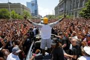 LeBron James et ses coéquipiers des Cavaliers ont... (archives Associated Press) - image 1.0