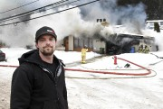 Marc-André Chantal a aidé les résidants à quitter... (Photo Le Quotidien, Rocket Lavoie) - image 3.0