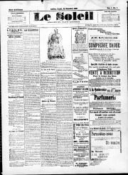 La première édition du Soleil, le 28 décembre1896... - image 2.0
