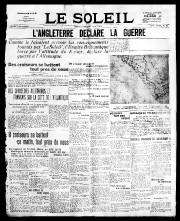 5 août 1914«L'ANGLETERRE DÉCLARE LA GUERRE»... - image 3.0