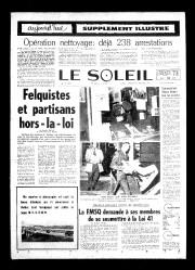 16 octobre 1970«FELQUISTES ET PARTISANS HORS-LA-LOI»... - image 9.0