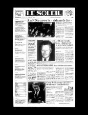 10 novembre 1989«LA RDA OUVRE LE ''RIDEAU DE... - image 10.0