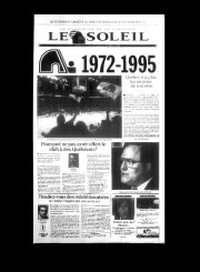 26 mai 1995«LES NORDIQUES 1972-1995»... - image 11.0