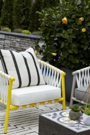 Les accents de jaune retiennent l'attention.... (Fournie par HomeSense) - image 2.0